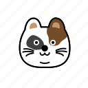 cat, character, emoji, normal, soso icon
