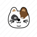 cat, character, depress, emoji, soso icon