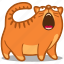 cat, hungry, loud, meow, pet, scream, shout icon