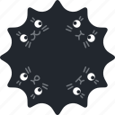 announce, cat, deal, kitty, new, squash, star icon