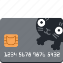 bank, buy, card, cat, credit, money, pay