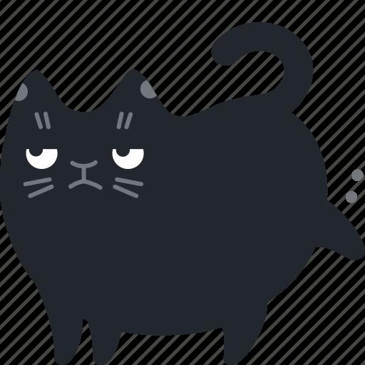 cancel, cat, delete, garbage, poop, remove, trash icon