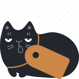 buy, cat, pay, pet, price, sale, tag icon
