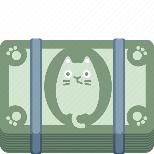 buy, cash, cat, dollar, money, pay, payment icon
