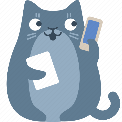 call, cat, help, mobile, phone, support, talk icon