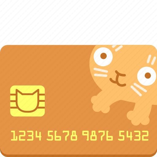 card, cat, credit, money, pay, purchase, shop icon