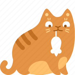cat, eat, food, mouse, prize, rat, trophy icon