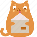 lick, send, cat, mail, email, message, contact