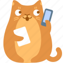 help, support, cat, phone, call, troubleshooting, contact