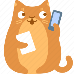 call, cat, contact, help, phone, support, troubleshooting icon