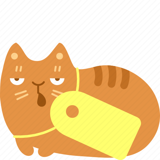 buy, cat, price, purchase, sale, shop, tag icon