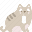 cat, catch, gift, mouse, present, reward, trophy icon