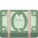 buy, cash, cat, currency, dollar, money, pay icon