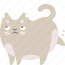 cat, clean, garbage, poop icon