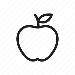 apple, categories, food, fruit, ingredient icon