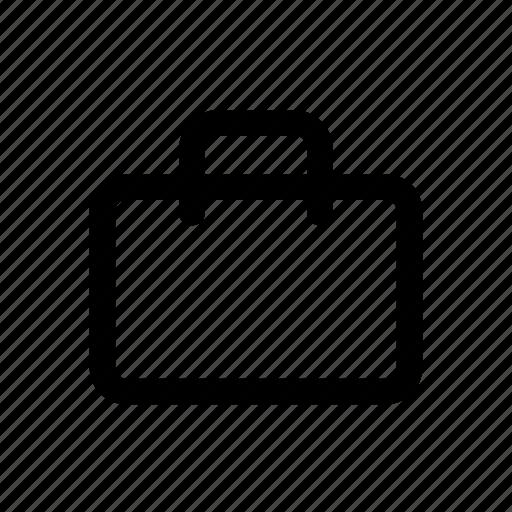 briefcase, case, paper, portfolio, suitcase, work icon