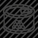caviar, eggs, fish, masago, red icon