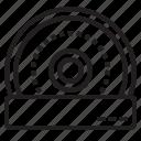 camera, dome, infarate, surveillance icon