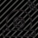 camera, dome, ip, surveillance icon