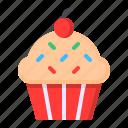 celebration, cupcake, dessert, food, party