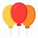balloon, birthday, celebration, decoration, party icon