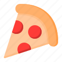 fast food, food, italian, pizza, slice