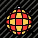 ball, celebration, disco, light, party