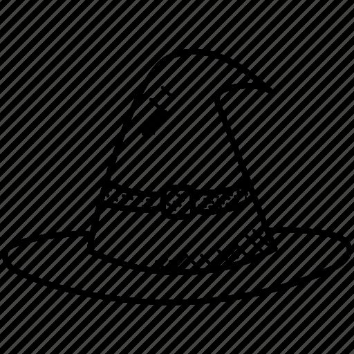 halloween cap, hat, whichcraft, witch, witch hat icon