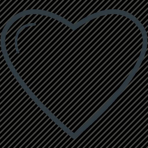 favourites, heart, heart shape, likes, love icon