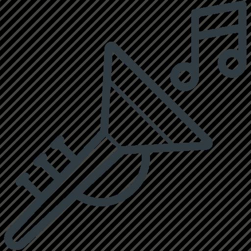 euphonium, french horn, horn, trombone, trumpet, tuba icon
