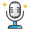 mic, microphone, voice recorder