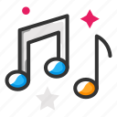 media, music, note icon