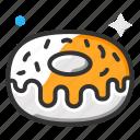 dessert, donut, sweet