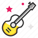 guitar, music, party, violin icon