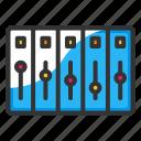 audio, audio mixer, music, sound icon