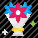 flower bouquet, gift, present icon