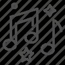 media, music, note