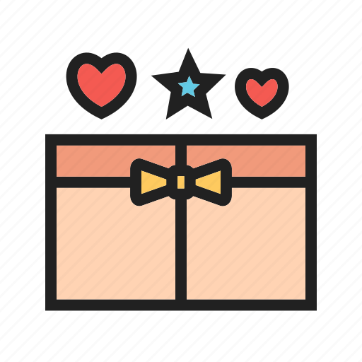 birthday, box, celebration, gift, holiday, open, present icon