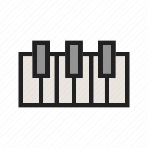 classic, instrument, key, keys, music, piano, play icon