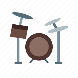 celebration, drum, drums, jazz, music, rock, set icon