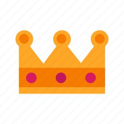crown, gold, king, prince, princess, queen, royal icon