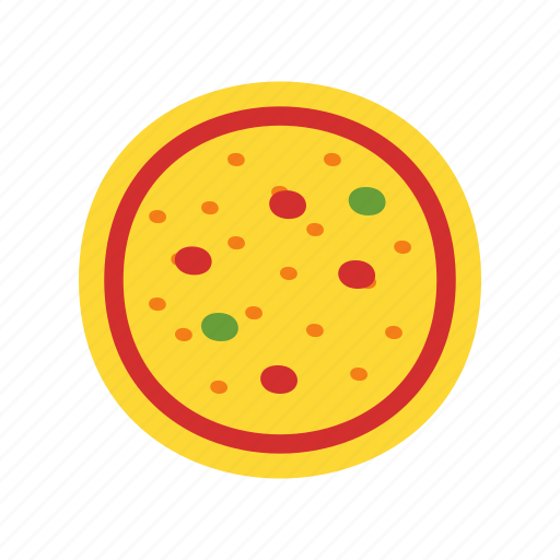 celebration, cheese, fast food, food, pizza, slice, snack icon