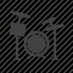 celebration, drum, drums, jazz, music, rock, set icon