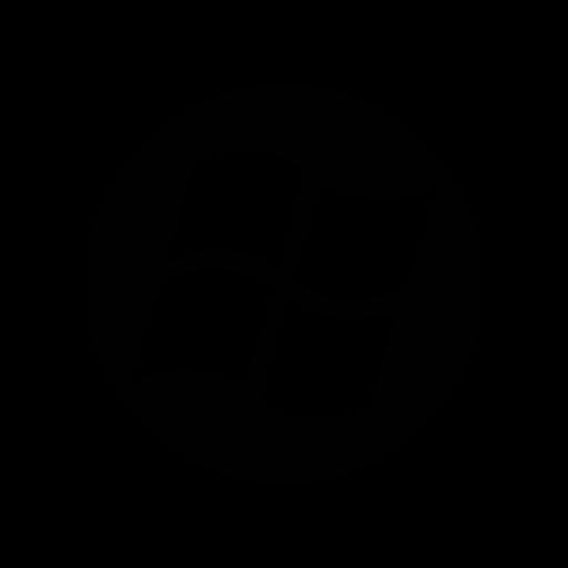 function, logo, microsoft, windows icon