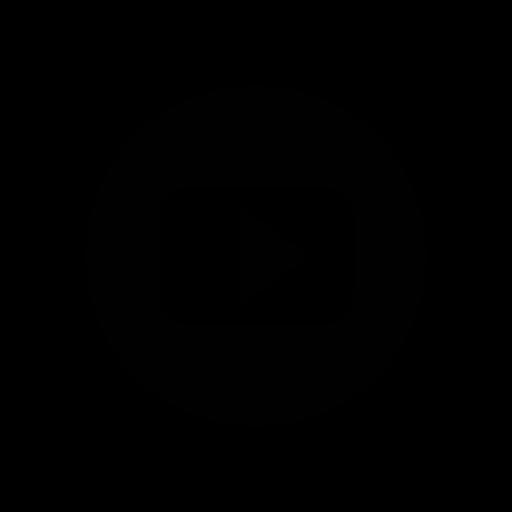 function, logo, movie, social network, youtube icon