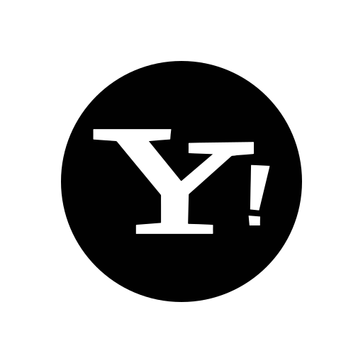 function, logo, messenger, social network, yahoo icon