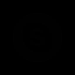 function, logo, skype, social network icon