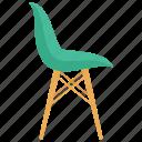 adirondack chair, armchair, chair, club chair, deck chair, patio chair icon