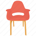 armchair, bentwood chair, chair, occasional chair, office chair icon