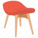 chair, interior chair, massage chair, seater, stool icon